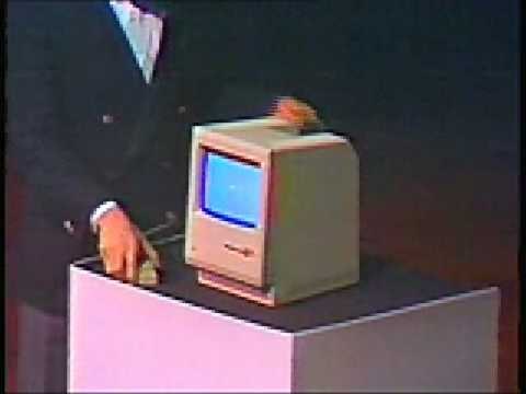 macintosh - The Original 1984 Macintosh Introduction: the magic moment, when Steve Jobs unveils the Macintosh and releases it from its bag. We've found these historical ...