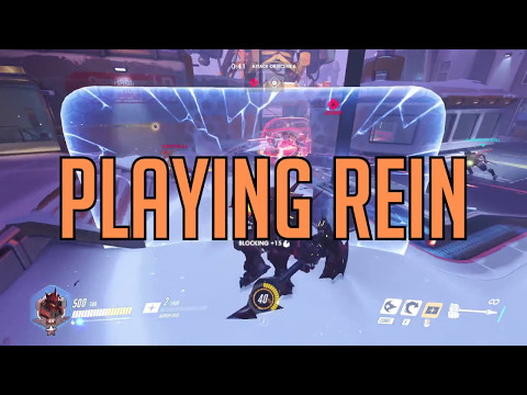 Playing Rein | Overwatch Parody of Hard Times by Paramore