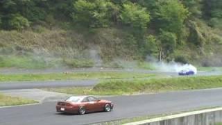 YZ ドリフト DK_SPL  in  ぎゃる天&カマ天 at  YZサーキット。。。May,2009
