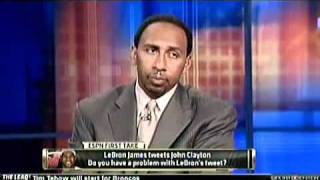 Stephen A. Smith destroys Lebron James!