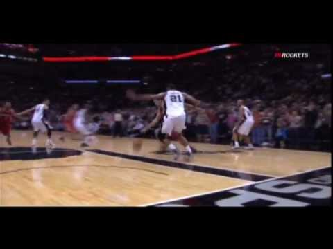Luis Scola hits shot to force overtime vs. Spurs
