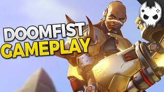 Overwatch Doomfist gameplay for new hero #overwatch💙 Get COOL rewards and support the channel! https://www.patreon.com/blamethecontroller🔸 Doomfist Ability Breakdown https://www.youtube.com/watch?v=dR9L4nmWoQc🔸 Doomfist Mythbusting https://www.youtube.com/watch?v=CtrasJIHMY4🔸 Doomfist All Skins https://www.youtube.com/watch?v=G3ANkZUyHOg🔸 Doomfist Gameplay Part 1 https://www.youtube.com/watch?v=2B4karTWAL0🔸 Doomfist Gameplay Part 2 https://www.youtube.com/watch?v=rhyT6ZKSygY🔹 Check out more TOP 5, Tips, and Guides below 🔹Hey! Hit that Like button and leave a comment!● Subscribe - http://bit.ly/SubscribeBTC ● TwitchTV - http://www.twitch.tv/blamethecontroller● Twitter - http://twitter.com/BlameTC● Instagram - http://instagram.com/blamethecontroller● Facebook - http://www.facebook.com/BlameTheController● Discord Server - https://discord.gg/blamethecontrollerSupport BTC on Patreonhttps://www.patreon.com/blamethecontrollerSupport BTC on Gamewisphttps://gamewisp.com/blamethecontroller♦♦  T-SHIRT  SHOP ♦♦http://blamethecontroller.spreadshirt.com/♦ Send me FanmailBTC  P.O. Box 97Spring, TX 77383🔸 ORISA TOP 10 Tips: https://www.youtube.com/watch?v=Ch_ZbAqjca8🔸 TOP 5 TIPS and Tricks:  https://www.youtube.com/watch?v=3dEIQ6qrH1g🔸 TOP 5 TIPS for TEAMWORK: https://www.youtube.com/watch?v=0pseL1QkMGs🔸 TOP 5 TIPS for HERO PICKS:  https://www.youtube.com/watch?v=RFTzCy6u11M🔸 TOP 5 TIPS for IMPROVING AIM: https://www.youtube.com/watch?v=71fehVACdyc 🔸 TOP 5 TIPS FOR CUSTOMIZATION: https://www.youtube.com/watch?v=ps8bZ_FjHBM🔸 TOP 5 Best Teams for 3v3 https://www.youtube.com/watch?v=2cYk-Gdeabc🔸 Sombra Top 10 Tips: https://www.youtube.com/watch?v=BIW-gudOn18🔸 Overwatch Mythbusters - Sombra Teleporting: https://www.youtube.com/watch?v=JWHmukikcSQ🔸 Overwatch Mythbusters - Sombra Invisibility: https://www.youtube.com/watch?v=hHDYCIb70fQ🔸 Overwatch Mythbusters - Sombra Hack and EMP: https://www.youtube.com/watch?v=b_y8X4ORSjM🔸 How to Win 1v1 Guide - Offense Heroes https://www.youtube.com/