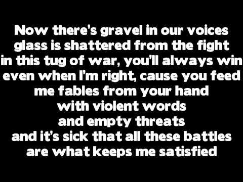 Part 2 - Rihanna - Love The Way You Lie (Part 2) ft. Eminem (Lyrics)