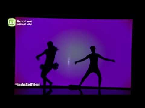 """""""موزار طيف الخيال"""" في نهائيات Arabs Got Talent..وراقصوه يتحولون إلى أي شيء على المسرح"""