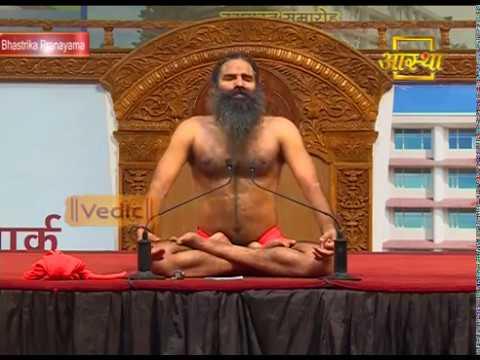 Bhastrika Pranayama Continue Two Minutes