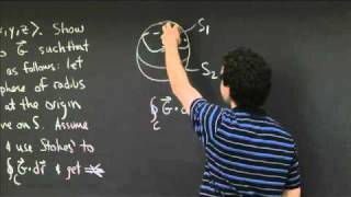Consequences Of Stokes' Theorem | MIT 18.02SC Multivariable Calculus, Fall 2010