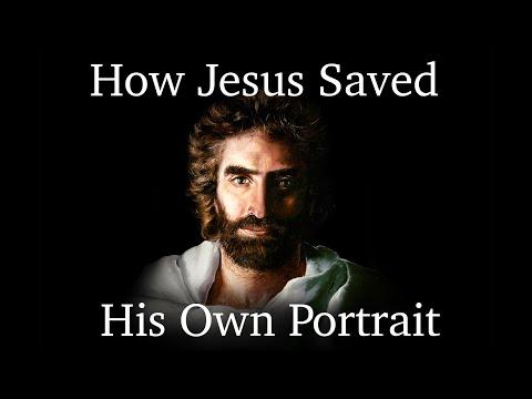 Hoe Jezus zijn eigen portret redde ... Het waargebeurde verhaal van Akiane's verloren meesterwerk