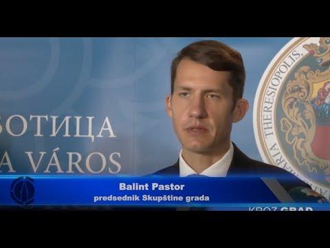 Dr Balint Pastor novi predsednik Skupštine grada-cover