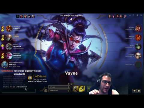 [ES] Main Supp Ranked Time!!! 20/06/2017