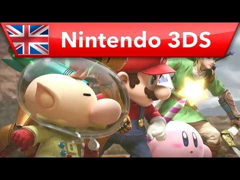 Super #SmashBros. for Nintendo 3DS - Launch Trailer Video