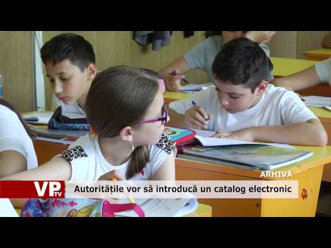 Autoritățile vor să introducă un catalog electronic