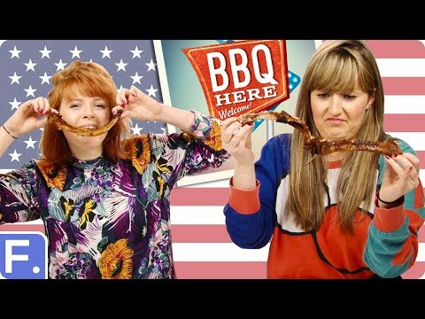 Irish People Try American BBQ For First Time