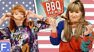 Video Irish People Try American BBQ MP3, 3GP, MP4, WEBM, AVI, FLV Desember 2018