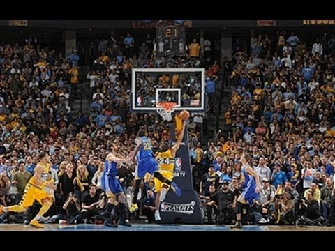 Andre Miller Has Game Winning Layup in Nuggets-Warriors Game 1