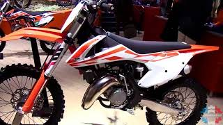 8. 2017 KTM 125 SX Walkaround Review Engine Specifications Details and Colors