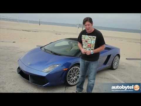 2012 Lamborghini Gallardo LP 550-2 Spyder: Video Road Test & Review