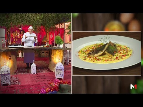 العرب اليوم - شاهد: طريقة إعداد سمك الدرعي بكريمة الزعفران