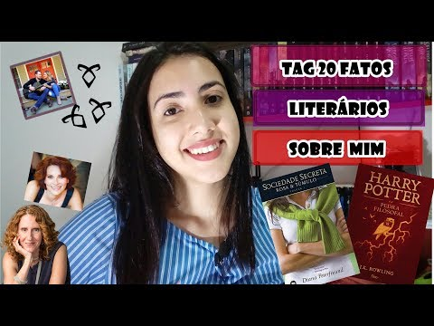 TAG 20 FATOS LITERÁRIOS SOBRE MIM | Leticia Ferfer | Livro Livro Meu