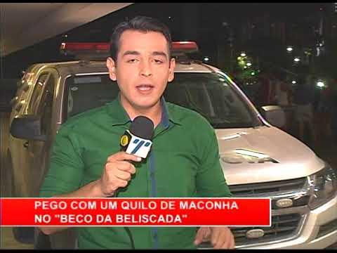 [RONDA GERAL] Homem é detido com um quilo de maconha em Água Fria