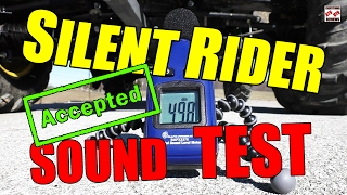 9. SILENT RIDER NOISE LEVEL TEST ATV/UTV Exhaust Silencer - STEALTH OPERATION