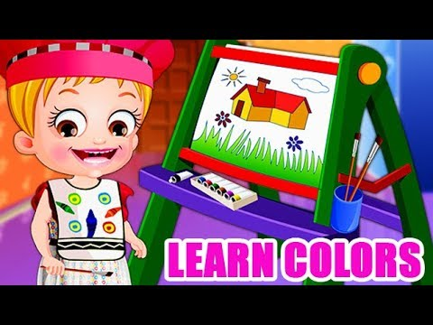 Video of Baby Hazel Learns Colors
