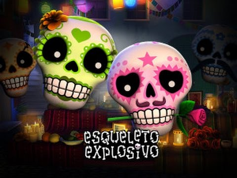 Esqueleto Explosivo – NEW SLOT MACHINE – Viva la Fiesta