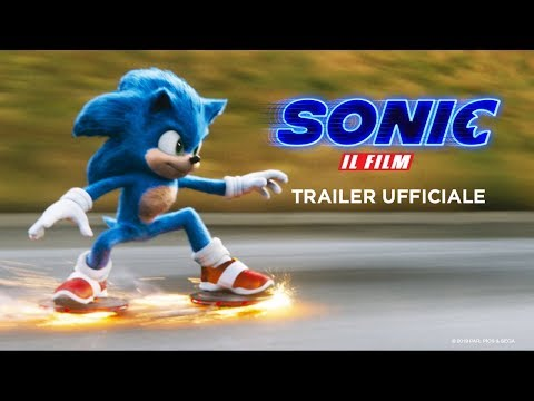 Preview Trailer Sonic il Film, trailer ufficiale italiano