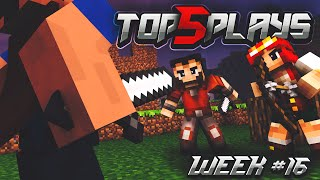 Minecraft PvP: Top 5 Plays of the Week #16
