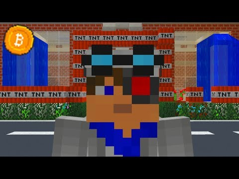 КРИПТОГОРОД! Я ПОШЕЛ В КРИПТОШКОЛУ ВМЕСТЕ С АИДОМ! ЕЕ ПЫТАЮТСЯ ВЗОРВАТЬ! Minecraft