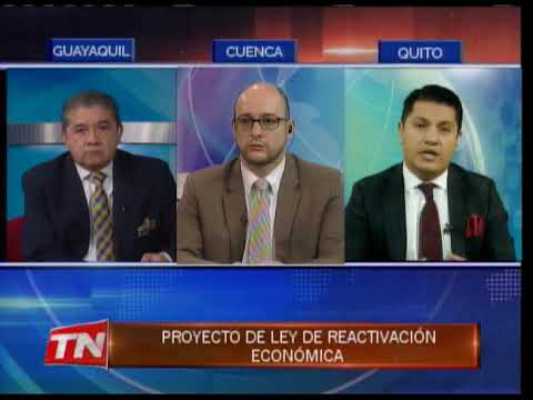 Proyecto de ley de reactivación económica