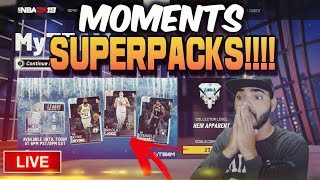 """Video Nba 2k19 MYTEAM Moments """"SUPERPACKS"""" Pack Opening! LIMITED TIME So We Need PINK DIAMONDS! MP3, 3GP, MP4, WEBM, AVI, FLV April 2019"""
