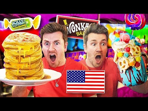 I Only Ate AMERICAN FOOD For 24 HOURS *Challenge*
