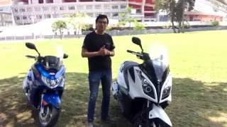 10. Review Dontown 300i - Club Scooter Kymco Costa Rica