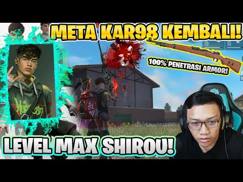 1 HIT KNOCK LEVEL MAX SHIROU KAR98! INI CHAR GA MASUK AKAL!