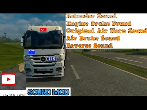 MB Actros Sound Pack v1