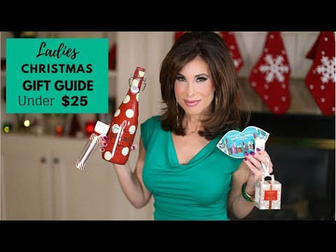 Ladies Christmas Gift Guide Under $25