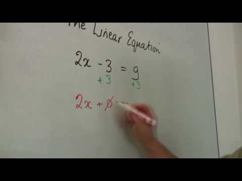 Solving Equations Video