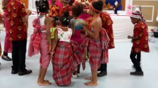 Igbo kids at Ikwuano Umuahia association Iriji Festival inToronto