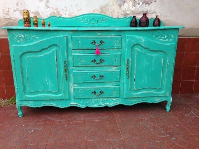 Mueble vintage cmo pintar d - Pintar muebles estilo vintage ...