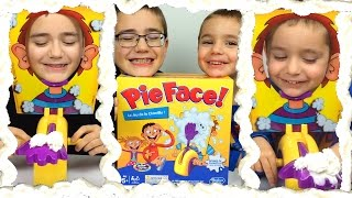 Video CHALLENGE - Pie Face Challenge - Le Jeu de la chantilly -  Hasbro - Unboxing Pie Face Game MP3, 3GP, MP4, WEBM, AVI, FLV November 2017