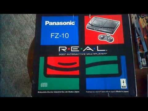 Panasonic 3DO - Finally got in the Panasonic 3DO FZ-10 Game System with about 15 games.