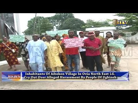 Aibokon residents cry out over alleged harassment by people of Ugbineh