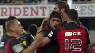 Highlanders v Crusaders Rd.12 2016 | Super Rugby Video Highlights