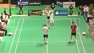 Boulazac France  city images : finale double minime championnat de france jeune badminton 2015 boulazac
