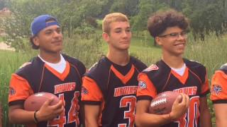 Fennville poses for photos during MLive Media Day