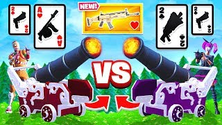WAR Game Mode *NEW* CARD GAME in Fortnite Battle Royale