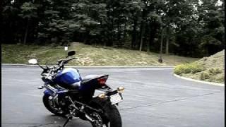 6. My First Bike - New 2009 Yamaha FZ6R