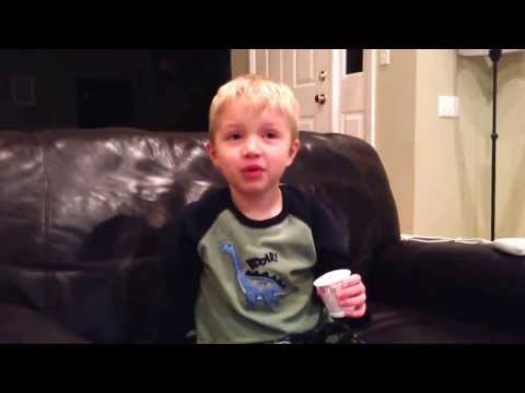 Little Kid Lists All the Swear Words He Knows