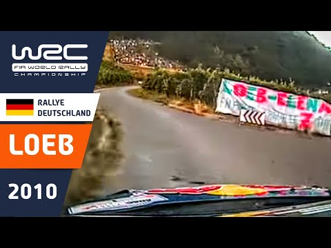 on-board di sebastien loeb - ss15 - adac deutschland 2010.