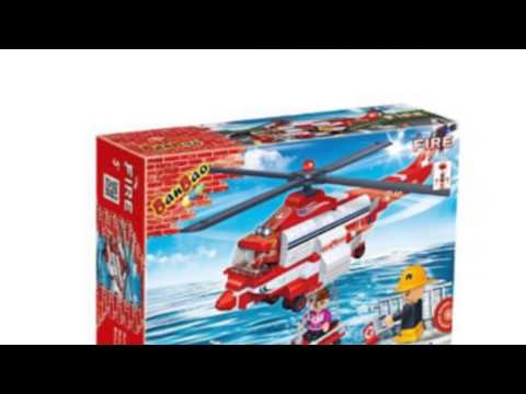 Video Awesome product video released online for the Fire Helicopter Toy Building Set